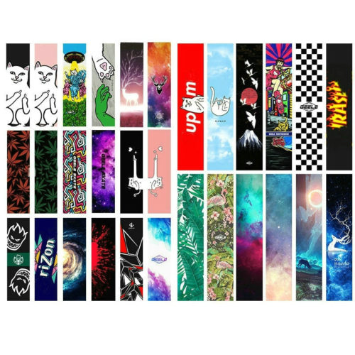 Grip Tape Skateboard Graphic Stickers