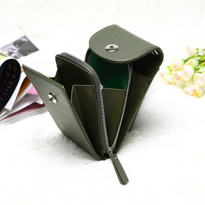 Phone Bag Leather Crossbody Purse
