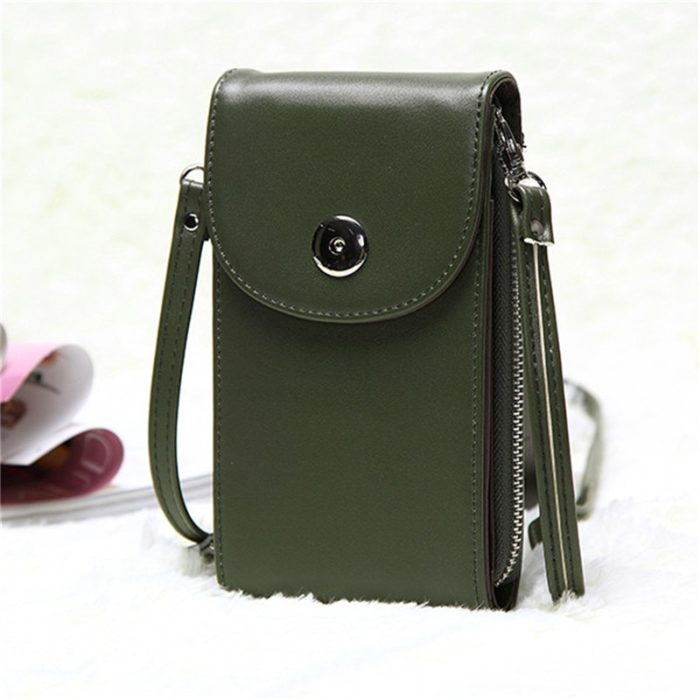 Phone Bag Leather Crossbody Purse