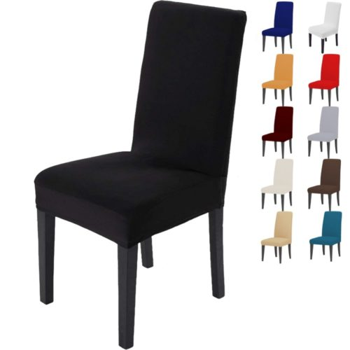 Wrinkle-Resistant Chair Cover