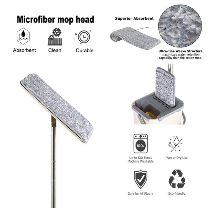 Microfiber Mop Bucket System