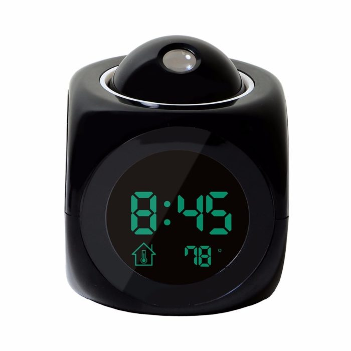 Digital Alarm Clock Projecting Display