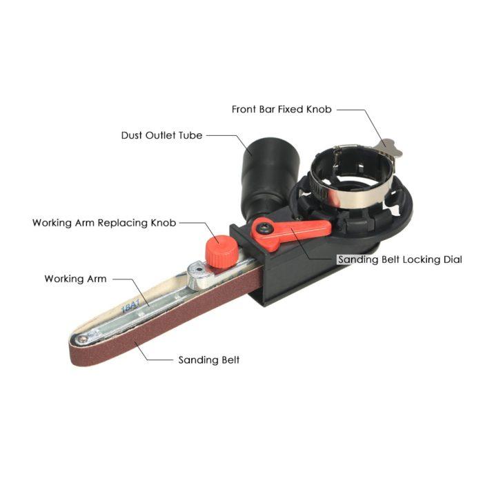 Sanding Machine Belt Grinder Adapter