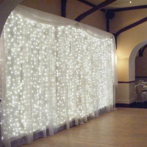 LED String Curtain Lights
