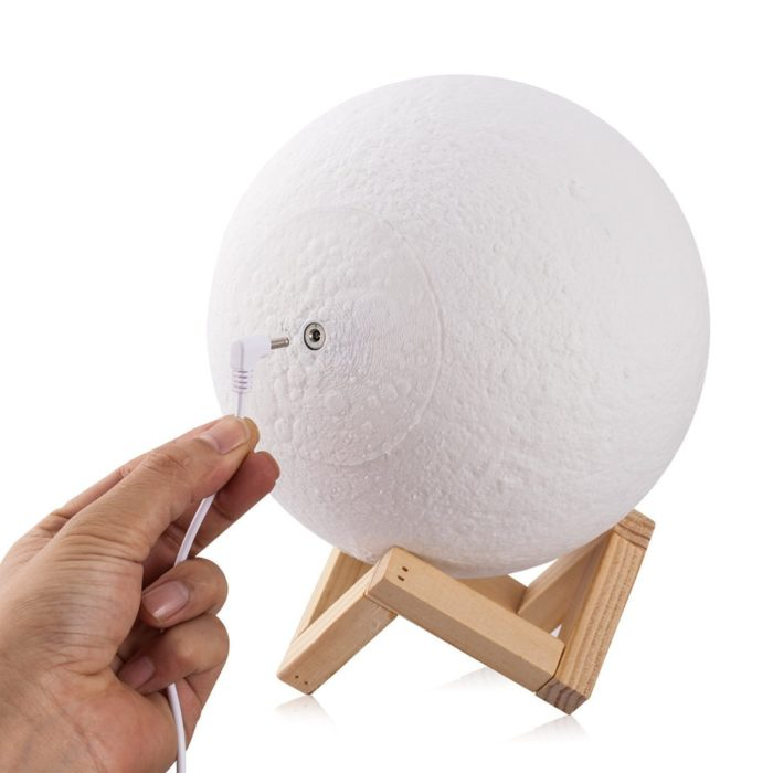 3D Print Spherical Moon Lamp