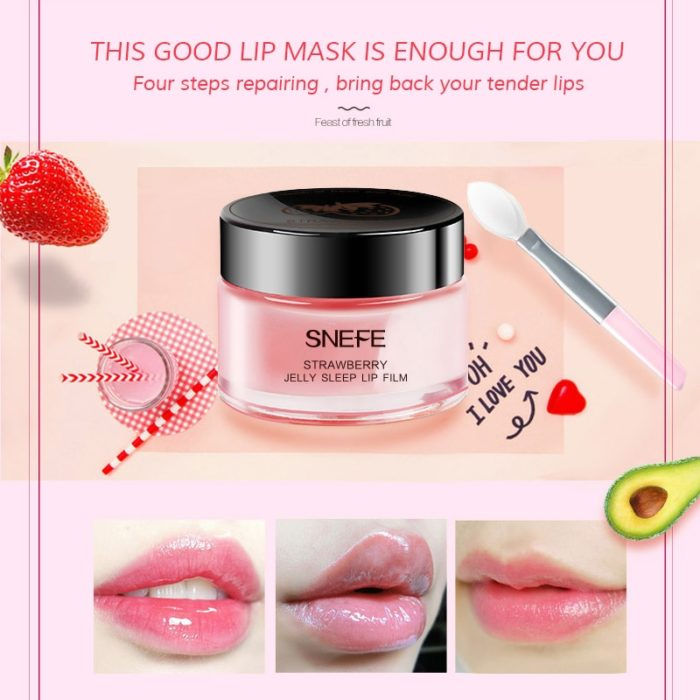Lip Exfoliator Mask Hydrating Cream