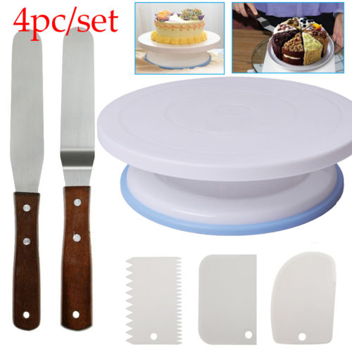 Cake Turntable Rotating Pastry Base