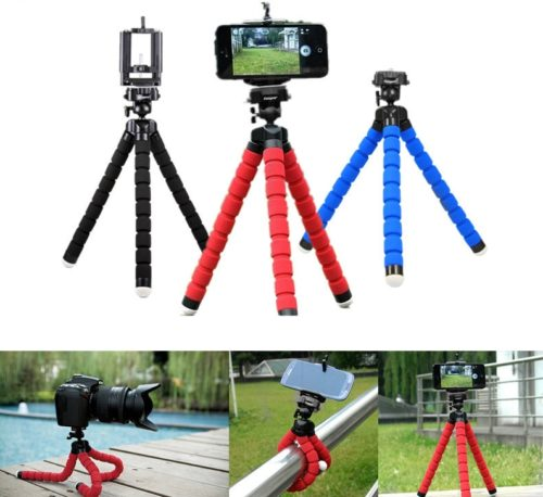 Flexible Tripod for Mobile Phone Camera