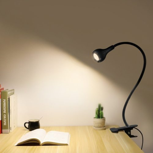 LED Desk Lamp USB Power Light