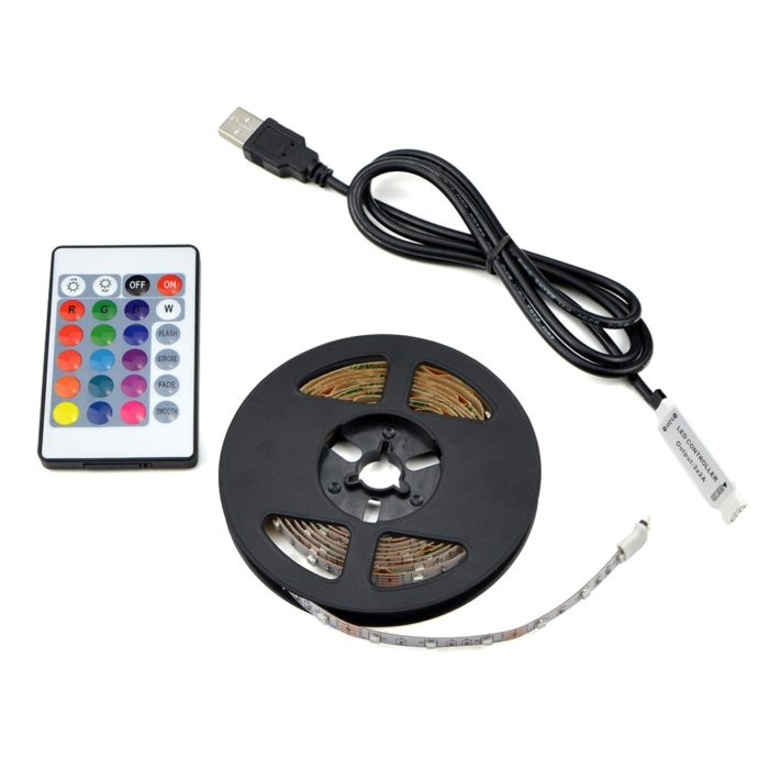 USB Activated LED Strip Lamp