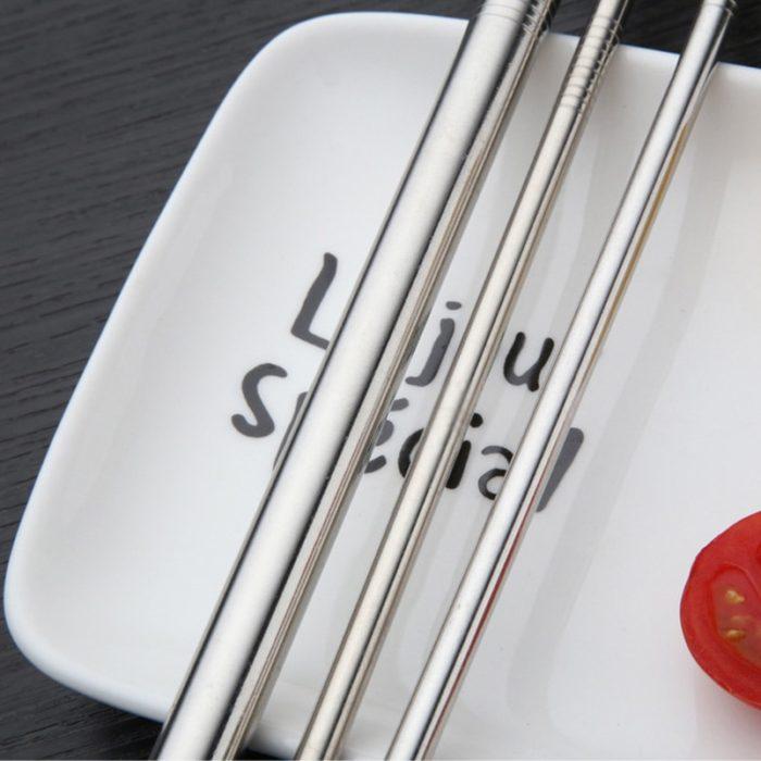 Five-piece Set Metal Straws