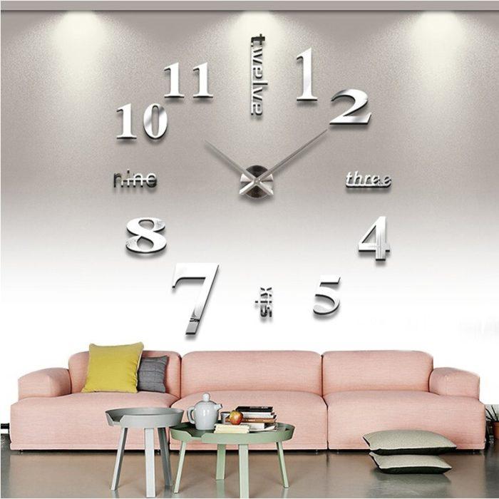 3D Large Clock
