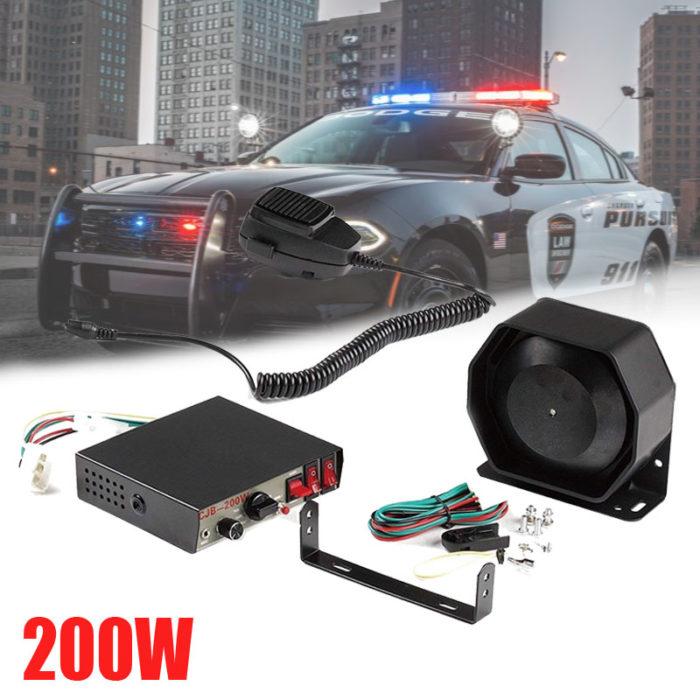 Police Horn Siren Megaphone Speaker