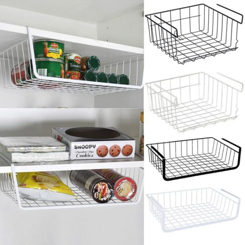 Storage Baskets Hanging Shelf Organizers