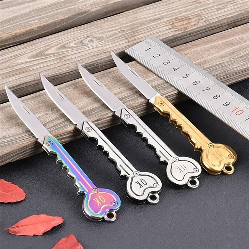 Self Defense Keychain Knife Survival Tool