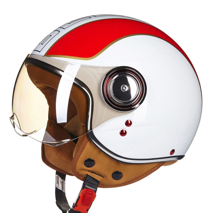 Scooter Helmet Open Face Protective Gear