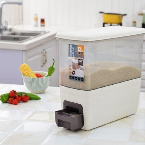 Rice Dispenser Food Storage Container
