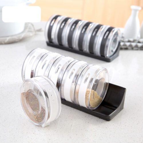Spice Container Seasoning Transparent Box