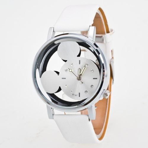 Ladies' Leather Mickey Mouse Watch