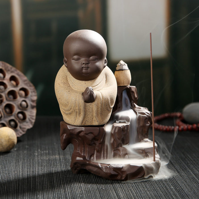 Incense Holder Mini Buddha Burner