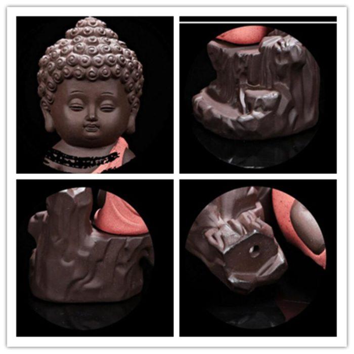 Incense Holder Mini Buddha Burner