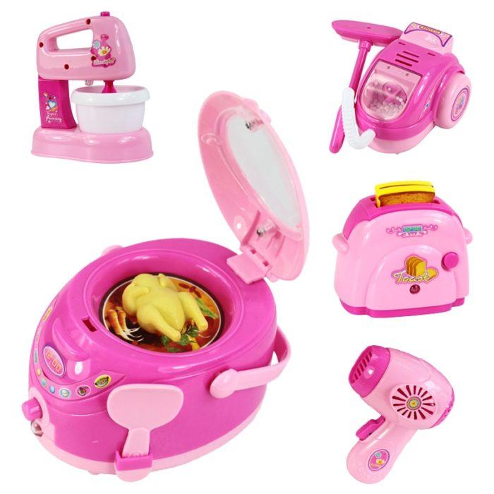 Kids Play Kitchen Home Appliances Toy