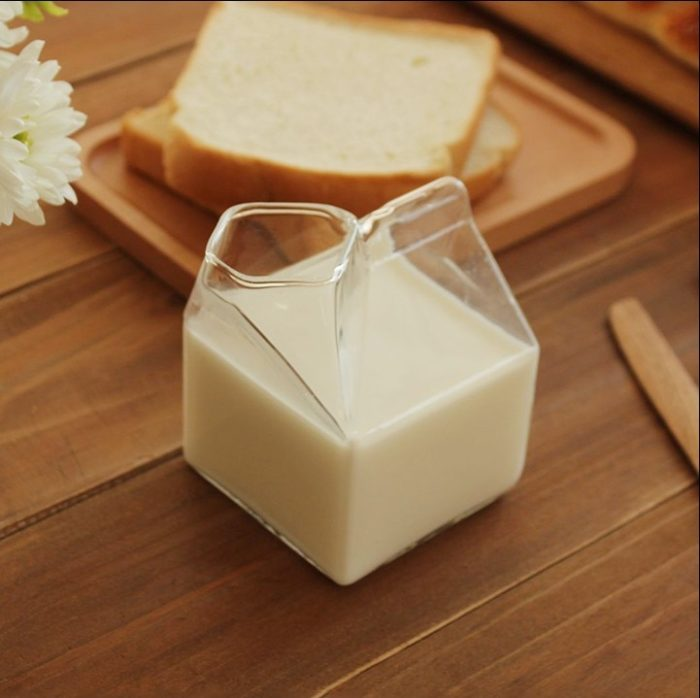 275ml Milk Cup Glass Container Box