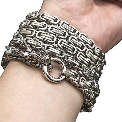 Hand Bracelet Dragon Defensive Chain