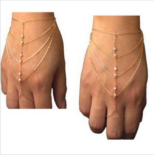 Chain Bracelet Bohemian Hand Jewelry