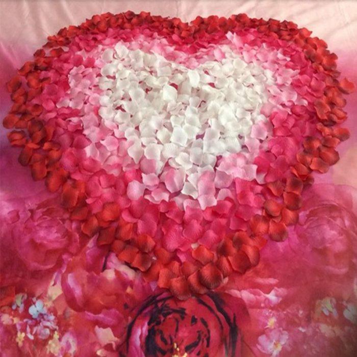 Fake Rose Petals Artificial Flowers