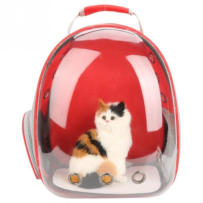 Transparent Breathable Cat Backpack