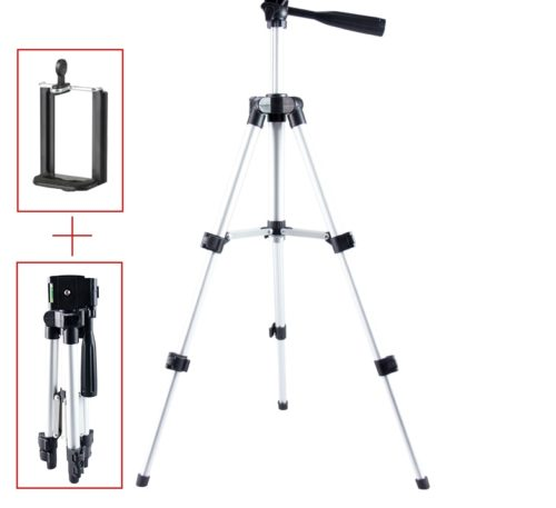 Camera Stand Flexible and Portable Tripod