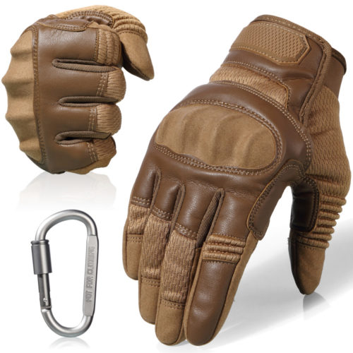 Full Finger Leather Driving Gloves