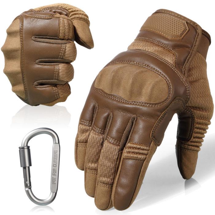 Full Finger Leather Driving Gloves