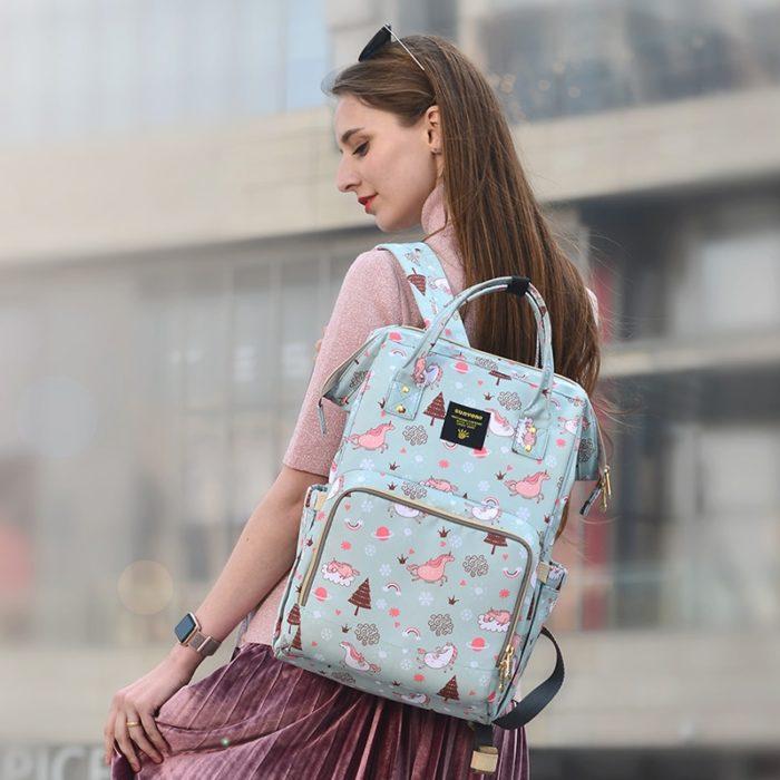 Fashionable Large Capacity Maternity Bag