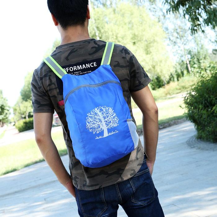 Foldable Bag Unisex Waterproof Backpack