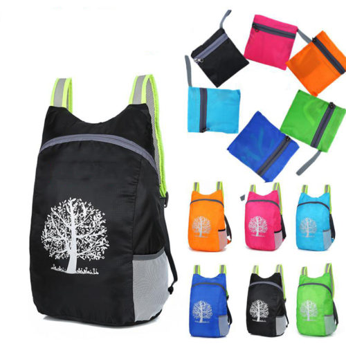 Foldable Bag Unisex Waterproof Backpack