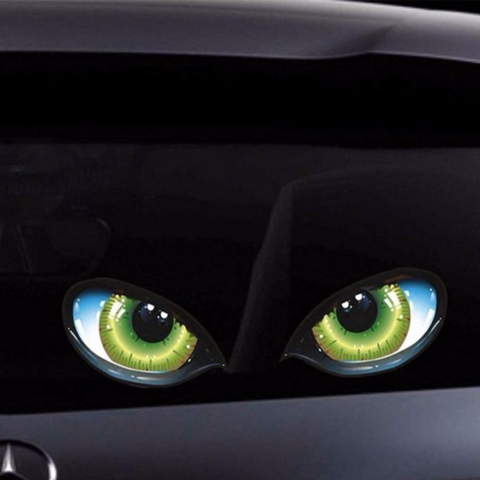 Car Decal Stickers Cat Eyes