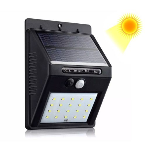 Solar Powered Lights with Motion Sensor