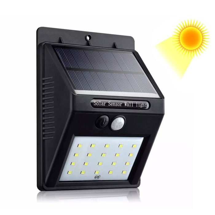 Solar Powered Lights with Motion Sensor