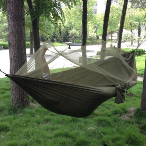 Hammock Swing with Mosquito Net