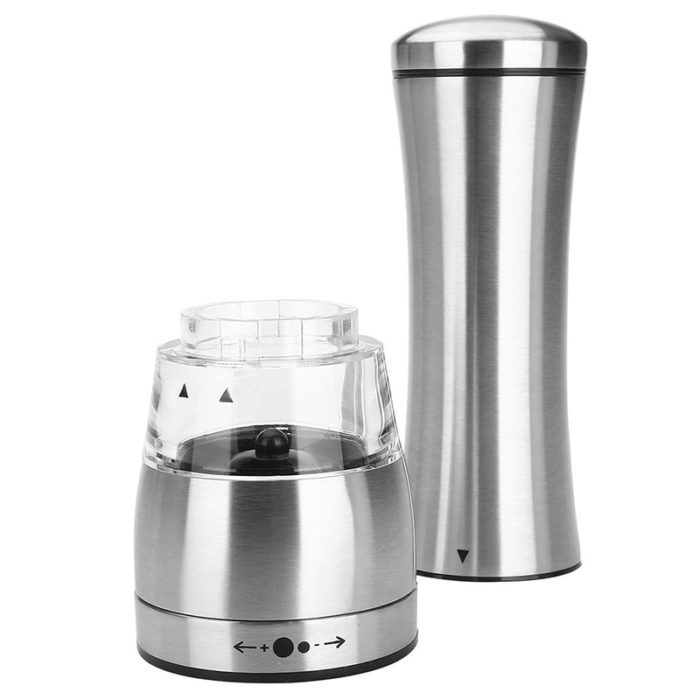 Salt and Pepper Shaker Stainless Steel