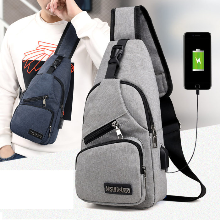Anti-theft Bag with USB Charging