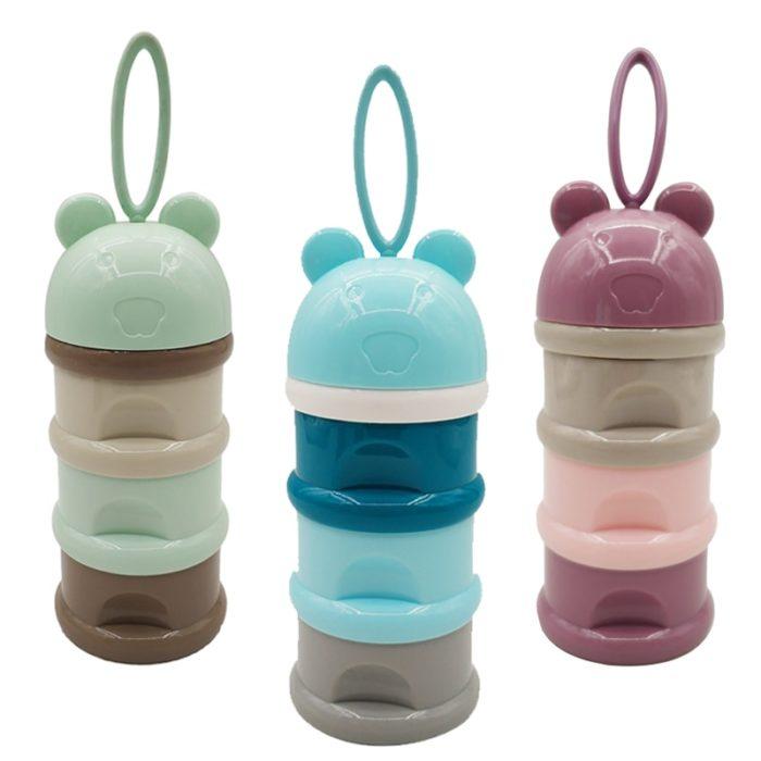 3-layer Baby Formula Dispenser Milk Container
