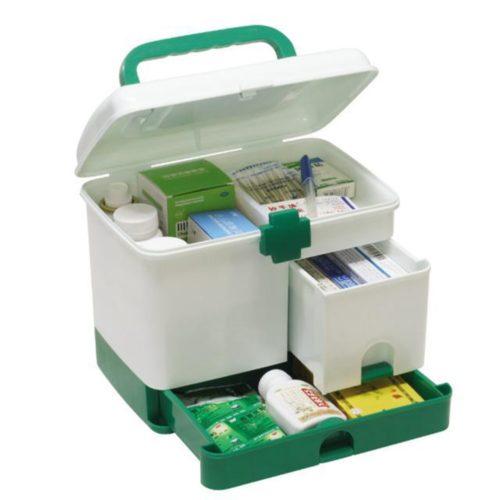 First Aid Box Multi-layer Medicine Kit