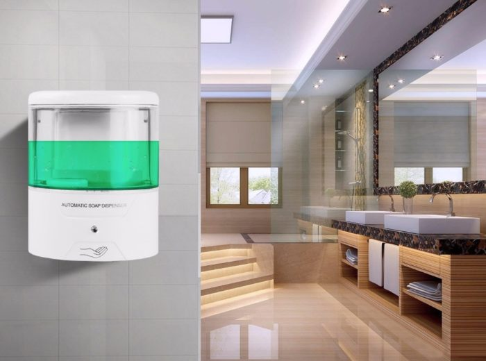 Automatic Dish Soap Dispenser Wall Mount