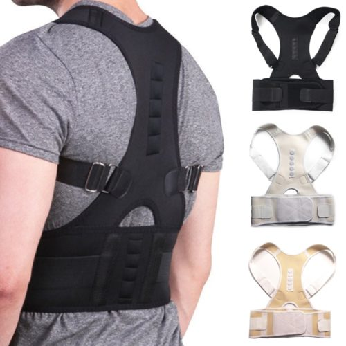 Posture Corrector Brace with Magnetic Function