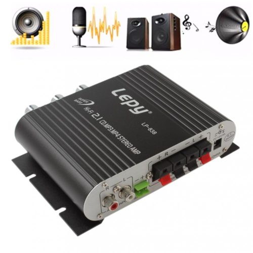 Car Amplifier Stereo Speaker Booster