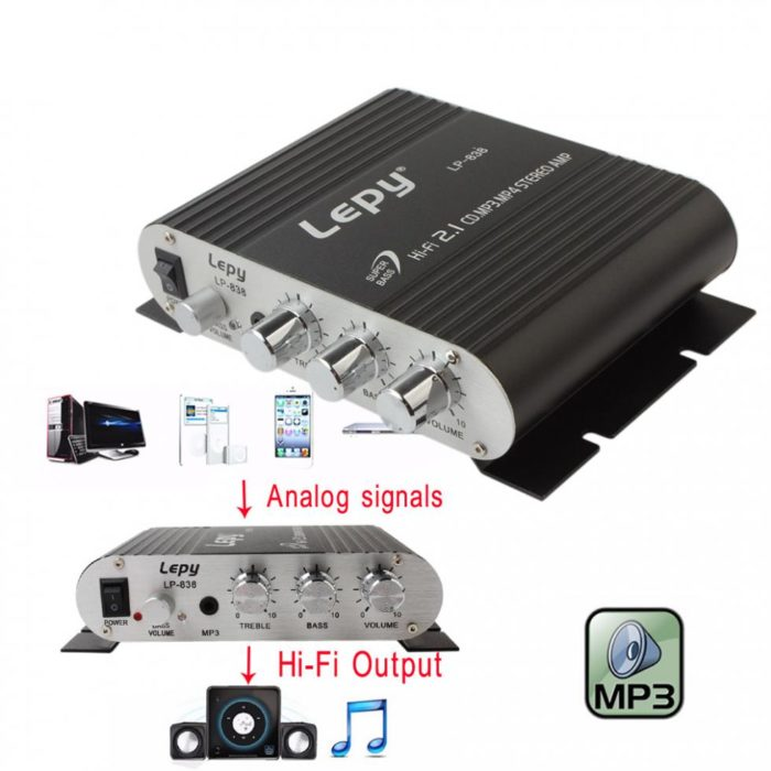 Car Amplifier Stereo Speaker Booster