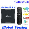 Android TV Box 8.1 with Quad-Core Processor